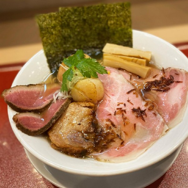 Photo by mika okada in 燃えよ麺助. May be an image of food.