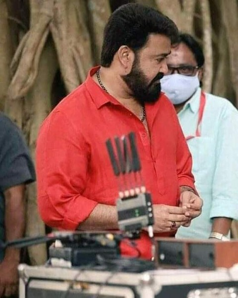 Photo by Mohanlal Fans Balussery on June 06, 2021. May be an image of 1 person, beard and standing.