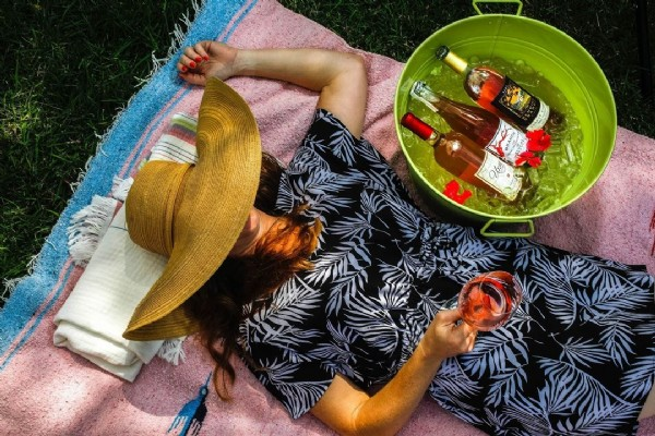 Photo by Bending Branch Winery on June 17, 2021. May be an image of 1 person and outdoors.