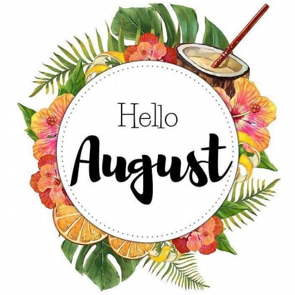 Photo by Cynthia in Le Havre, France. May be an image of text that says 'Hello August'.