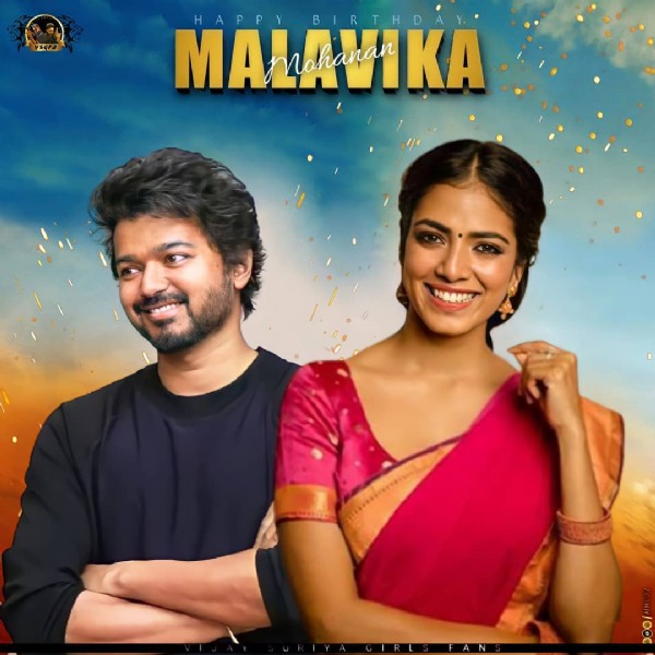Photo shared by VIJAY_SURIYA_GIRLS_FANS on August 03, 2021 tagging @malavikamohanan_, @m_a_l_a_v_i_k_a__official_, @malavika_fp, @thalapathy_online_vedio_editor, @thalapathi_studio, @malavikaafc, @team_mopk, @malavika_mohan_fans_club, @vbk_official_page, @vijay_annan_online_editors, @vijay_diehard_, @malavikaamohanan, @vijayworldwidefans, @thalapathy_online_, and @vijay_actor_official__. May be an image of 2 people, wrist watch and text.