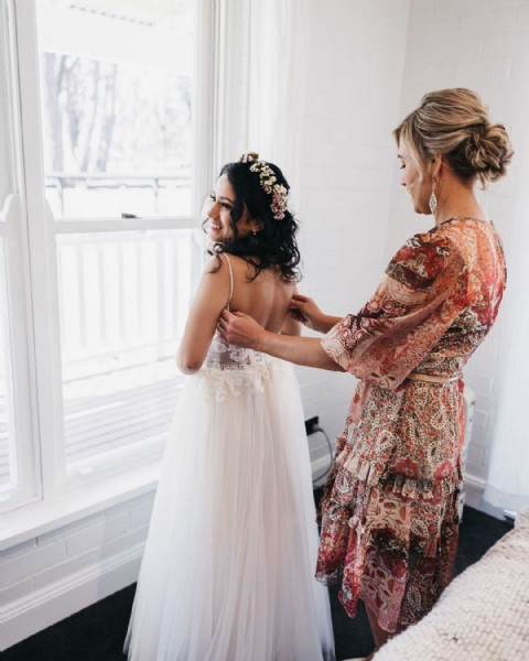 Photo by Rachel - Wedding & Lifestyle in Bowral, New South Wales. May be an image of 1 person, standing and indoor.