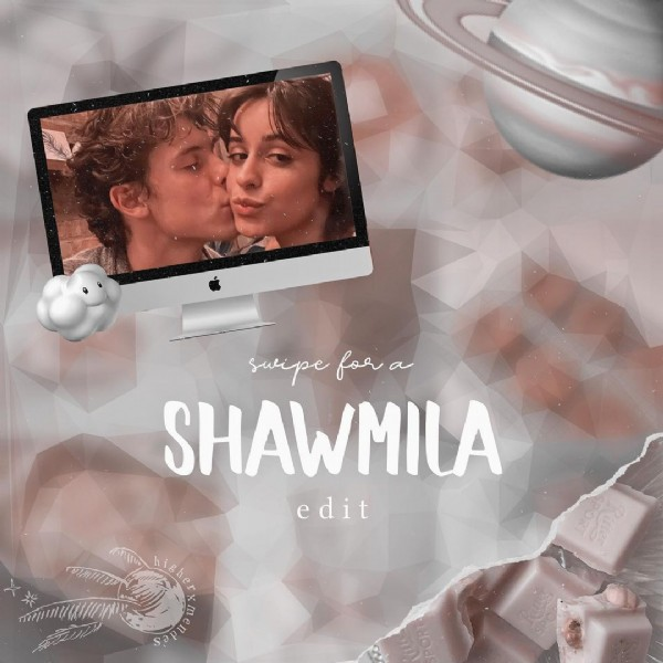 Photo shared by ʚ L ɞ on July 30, 2021 tagging @camila_cabello, @shawnmendes, @camilaaccess, and @shawnaccess. May be an image of 2 people and text.
