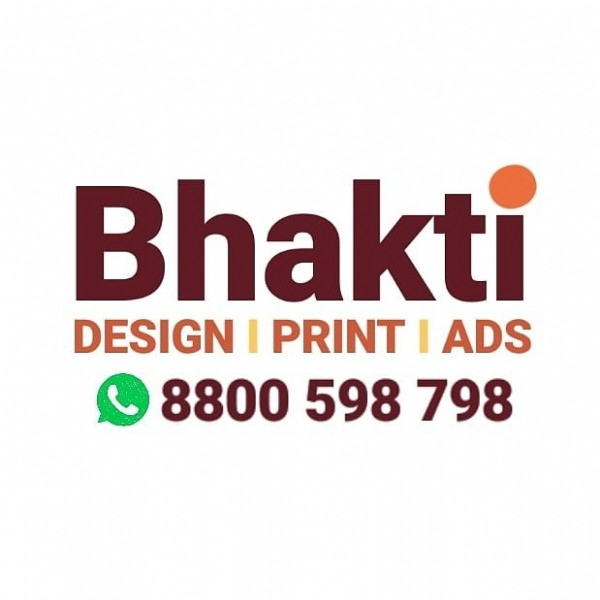 Photo by BHAKTI ARTS on July 31, 2021. May be an image of text that says 'Bhakti DESIGN I PRINT I ADS 8800 598 798'.
