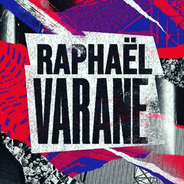 Photo by SemuaTentangManchesterUnited on July 27, 2021. May be an image of text that says 'RAPHAEL VARANE'.