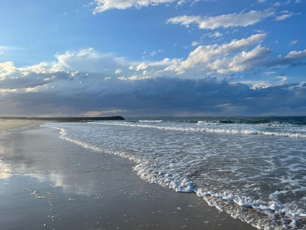 Photo by Kate Hanna in Forster Main Beach.