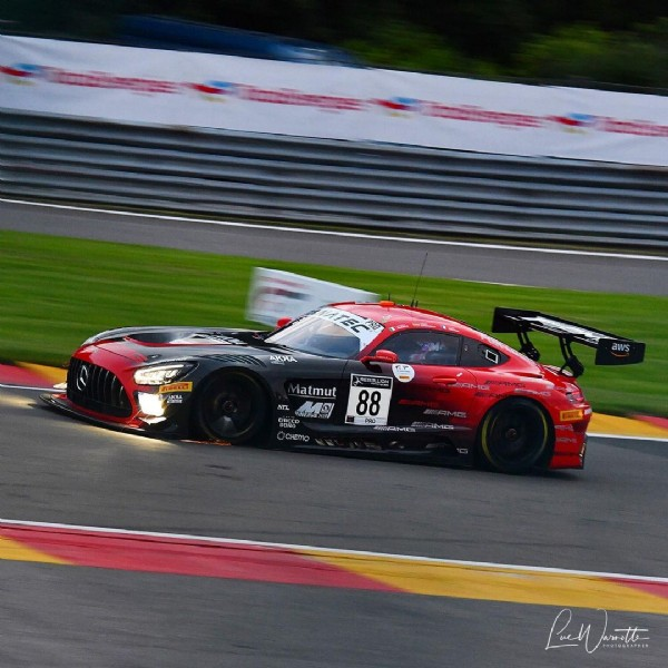 Photo shared by Car racing reporter on July 31, 2021 tagging @mercedesamg, and @team_rmarciello. May be an image of car and road.