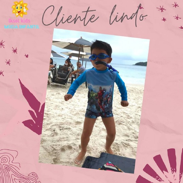 Photo by lksol on June 18, 2021. May be an image of 1 person, child, standing, sunglasses, outdoors and text that says 'Iksol kids MODAI INFANTIL Cliente lindo'.
