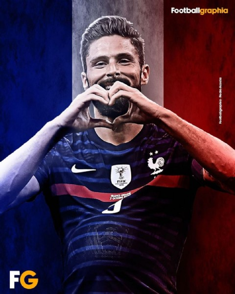 Photo by Pedro Acosta in Santiago, Chile with @equipedefrance, and @euro2020. May be an image of 1 person and text.