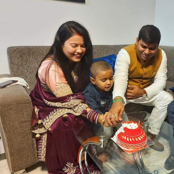 Photo by Deepak Kumar Yadav on June 22, 2021. May be an image of 3 people, people sitting, people standing and indoor.
