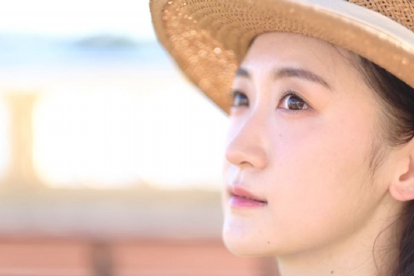 Photo by 柚 on August 01, 2021. May be a closeup of 1 person.