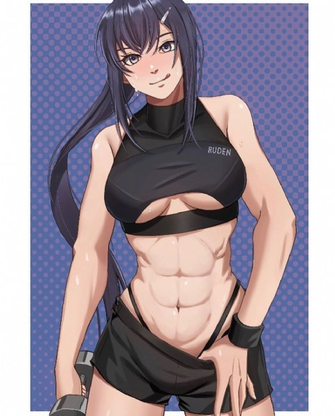 Photo by Muscular Waifus on September 21, 2021. May be a cartoon of 1 person and text that says 'RUDEN'.
