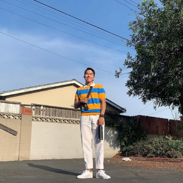 Photo by 오종훈 in Lakewood, California with @___saeyoung. May be an image of 1 person, standing and outdoors.