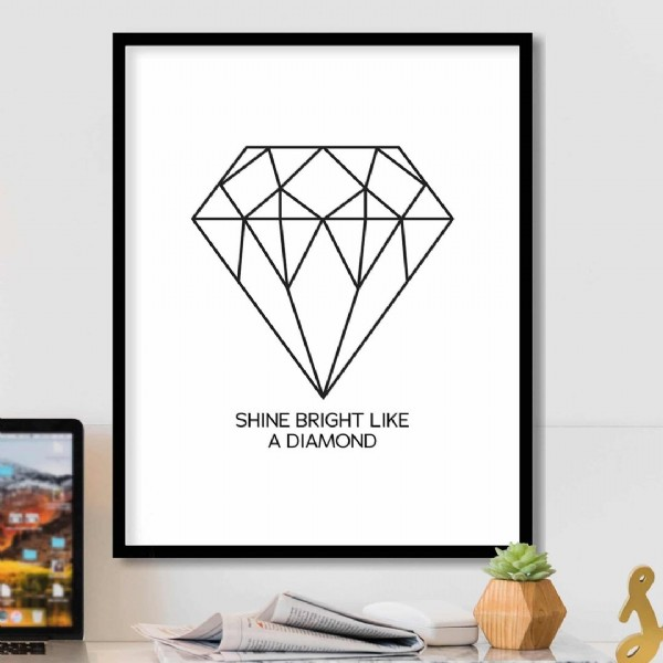 Photo by BestofBharat on July 31, 2021. May be an image of text that says 'SHINE BRIGHT LIKE A DIAMOND'.