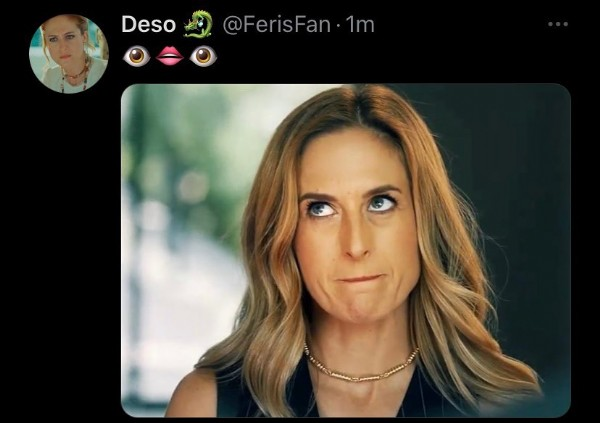 Photo by Deso  on May 16, 2021. May be an image of 2 people and text that says 'Deso @FerisFan 1m'.