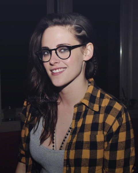 Photo shared by kristen stewart italia. on July 31, 2021 tagging @twilight. May be a closeup of 1 person and eyeglasses.