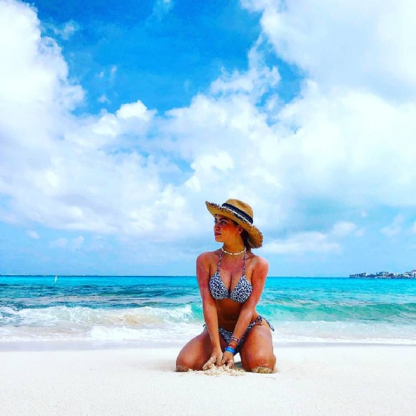 Photo by Destination Colombia in San Andres Island. May be an image of 1 person, beach and ocean.