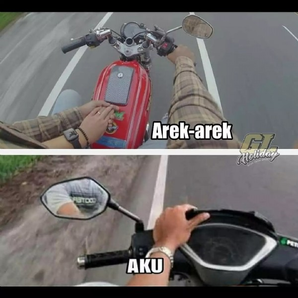 Photo by TEAM HEREX SEMARANG  on July 21, 2021. May be an image of motorcycle, outdoors and text.