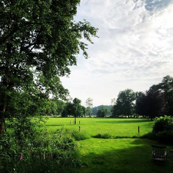 Photo by Leela May Stokholm on June 19, 2021. May be an image of nature, sky, grass and tree.
