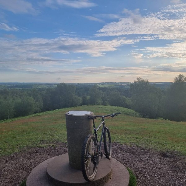 Photo by James Heath on June 07, 2021. May be an image of bicycle and nature.