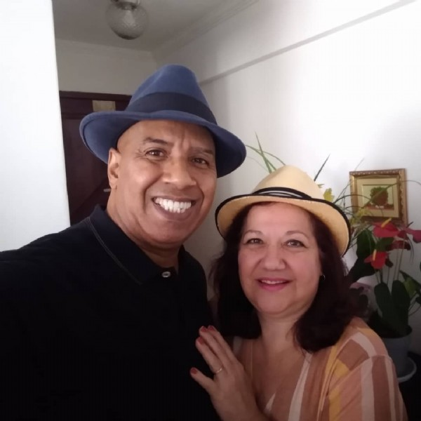 Photo by Edison de Souza Cabral on June 12, 2021. May be an image of 2 people.