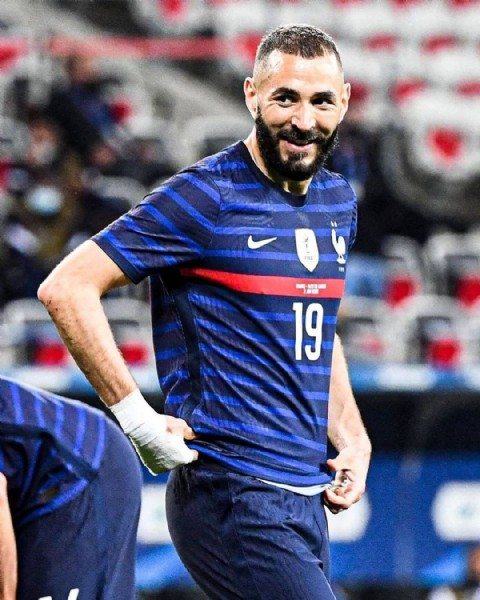 Photo shared by Benzema Family on June 19, 2021 tagging @karimbenzema. May be an image of 1 person.