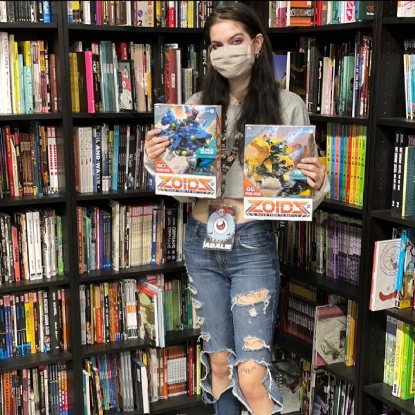 Photo by Third Eye Games & Hobbies on March 13, 2021. May be an image of 1 person, standing and book.