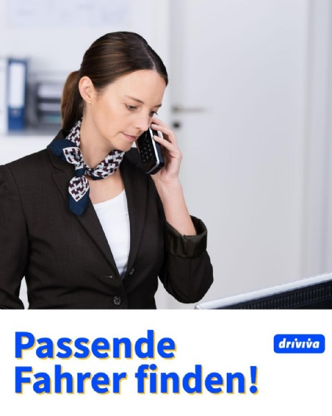 Photo by driviva on May 14, 2021. May be an image of 1 person and text that says 'driviva Passende Fahrer finden!'.