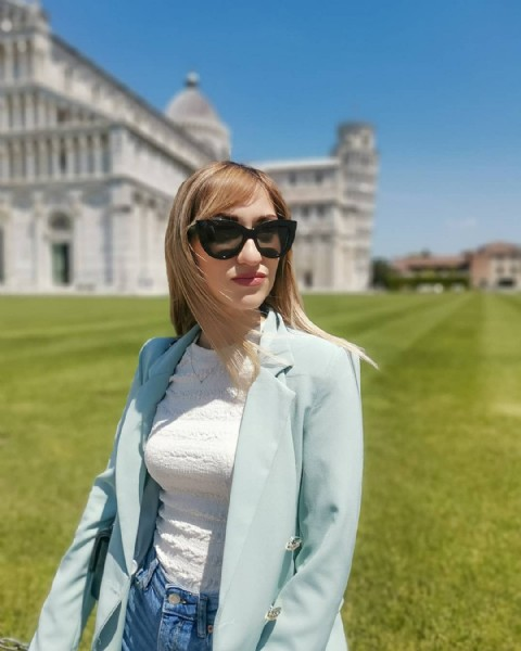 Photo by  .  in Piazza Dei Miracoli, Pisa. May be an image of 1 person, standing and outdoors.
