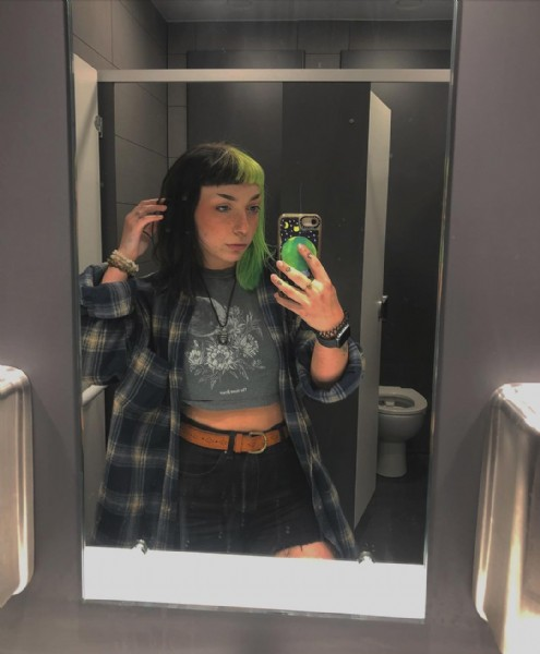 Photo by Evy on August 03, 2021. May be an image of 1 person, standing and indoor.