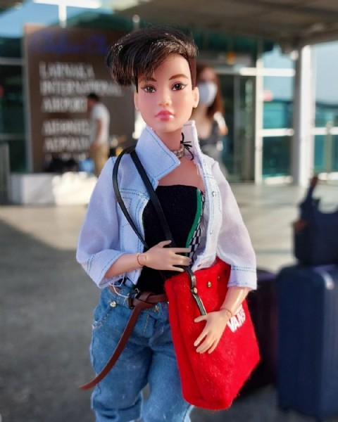 Photo by Eurneid's Doll Clothing on September 20, 2021. May be an image of 1 person and outdoors.