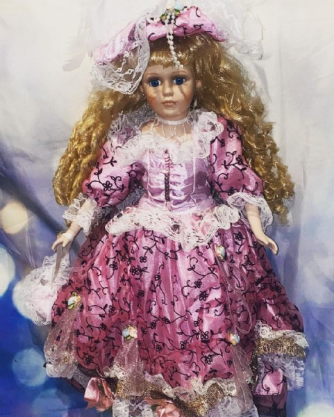 Photo by Haunted Spirit Dolls on June 11, 2021. May be an image of 1 person.