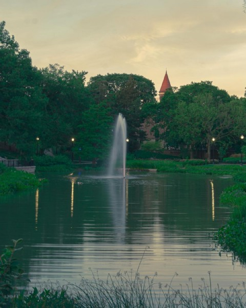 Photo by Aset Yare in Mirror Lake (Ohio) with @theohiostateuniversity, @lifeincolumbus, @studentlifeosu, @onlyincbus, @theohiostatealumni, @osu.pes, @only.in.ohio, and @ohio.raised. May be an image of nature.