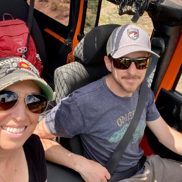 Photo by Rachel CardwellCO REALTOR on June 19, 2021. May be an image of 1 person, dune buggy and outdoors.