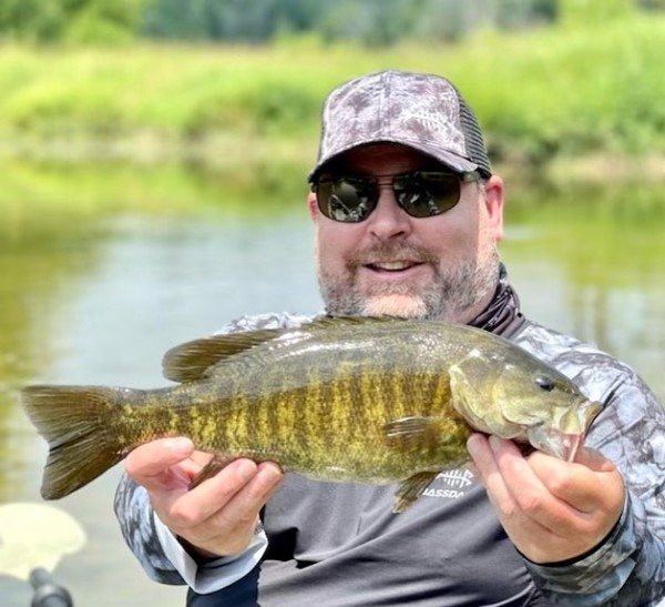 Photo shared by @flyfishermann on July 27, 2021 tagging @bassdashfishing, and @kickinupnorth. May be an image of 1 person and body of water.