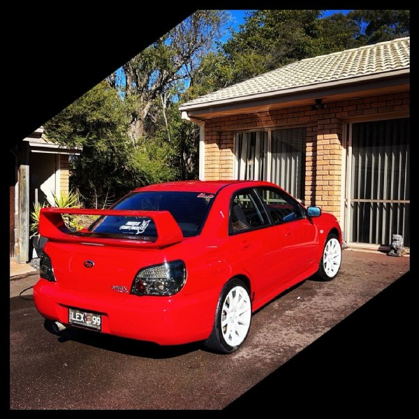 Photo shared by Big Red ❤️ on July 31, 2021 tagging @subaruaustralia, and @sweetsubies. May be an image of car and outdoors.