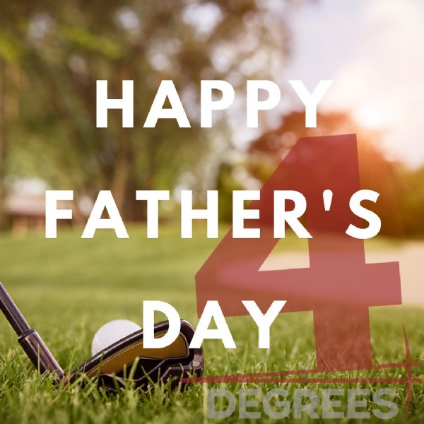 Photo by 4 Degrees Real Estate  in Spokane, Washington. May be an image of grass and text that says 'HAPPY FATHER'S DAY DEGREES'.