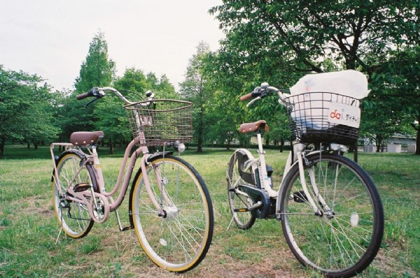 Photo by かわへい on June 18, 2021. May be an image of bicycle and outdoors.