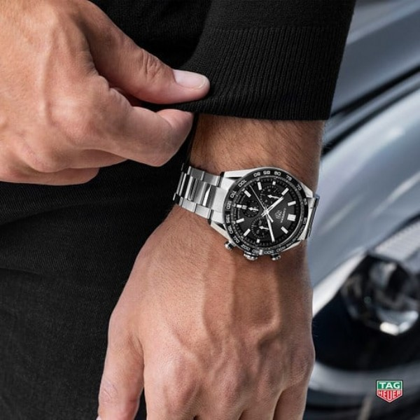 Photo by Juwelier Kamphues GmbH in Juwelier Kamphues with @tagheuer, and @juwelierkamphues. May be an image of wrist watch.