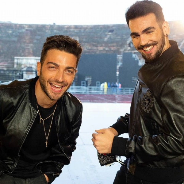 Photo by IL VOLO BRASIL FÃ CLUBE  in Itália with @gianginoble11, and @ignazioboschetto. May be an image of 2 people.