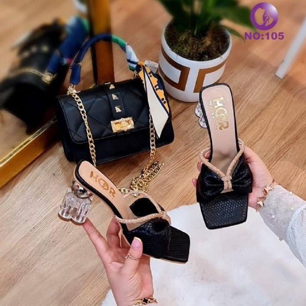 Photo by larsa_shoes_bags on August 02, 2021. May be an image of sandals, high-heeled shoes and purse.