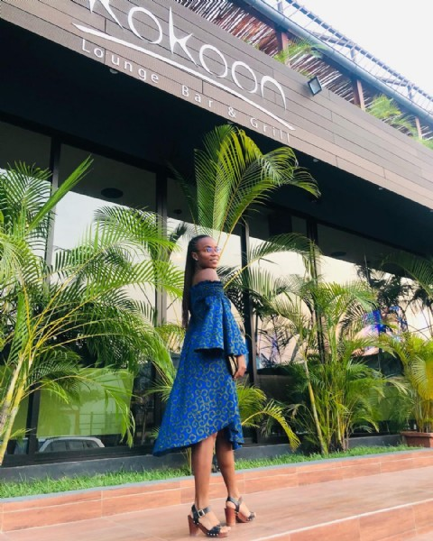 Photo shared by  Princess Selemba Ô on June 19, 2021 tagging @jahfashionkilla, and @kokoonpnr. May be an image of 1 person, standing and outdoors.