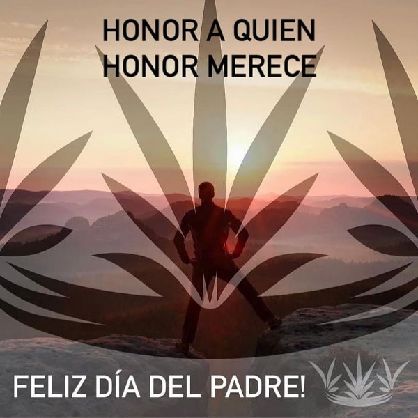 Photo by katedclove on June 20, 2021. May be an image of text that says 'HONOR QUIEN HONOR MERECE FELIZ DÍA DEL PADRE!'.