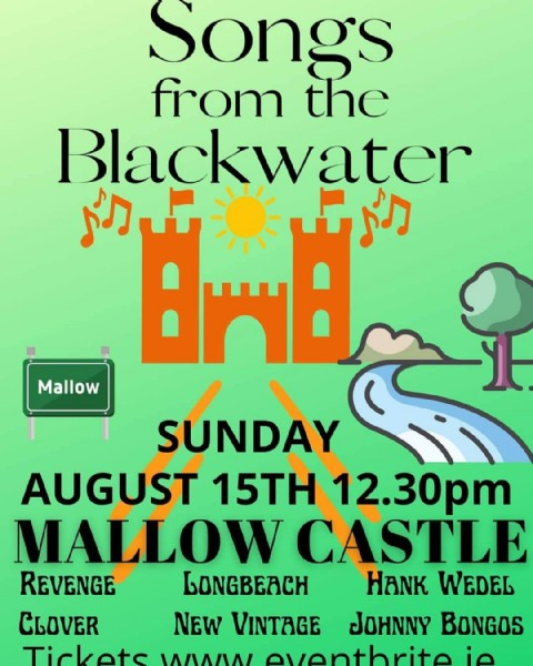 Photo by Songs from the blackwater in Mallow, Ireland. May be an image of text.