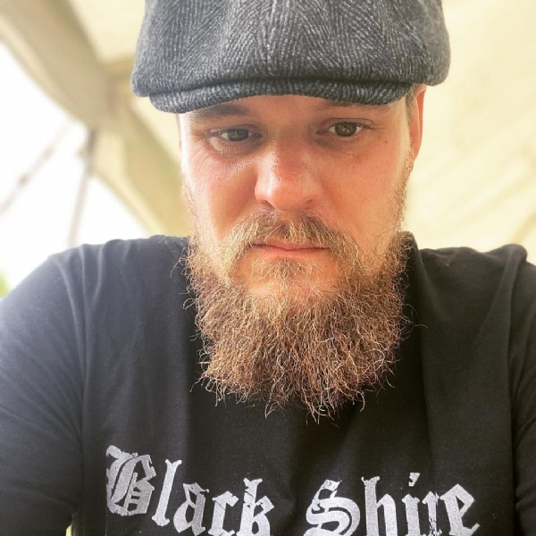 Photo shared by ⚔️ Mark ⚔️ on July 08, 2021 tagging @von_knox, @beardedvillains, and @black_shire_villains. May be an image of 1 person and beard.