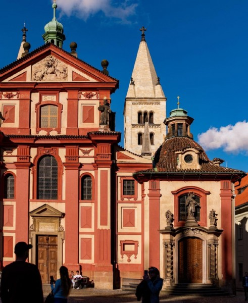 Photo by Lucie Faltynkova Photo in Prague Castle. May be an image of outdoors.