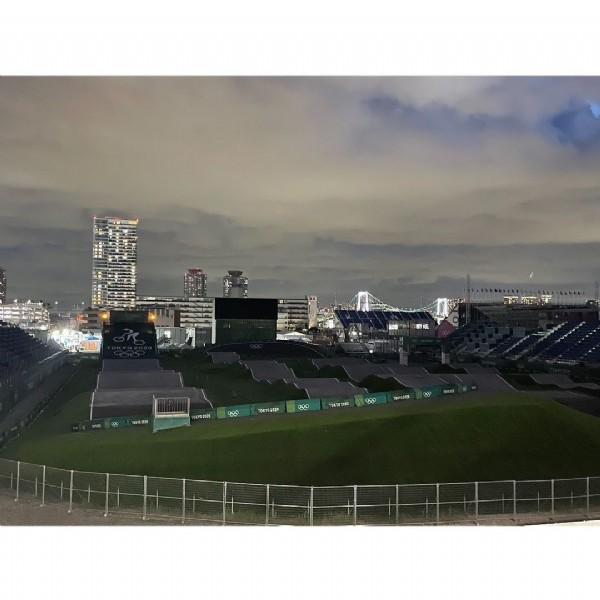 Photo by Kの4乗 in Ariake Sport Arena with @olympics, @gorin, @olympics2021, @travelwith_kkkk, and @tokyotrip_selection. May be an image of outdoors.