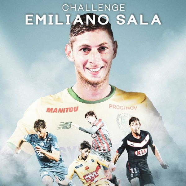 Photo by FC Nantes in Centre sportif José-Arribas with @challenge.emilianosala. May be an image of 5 people and text.