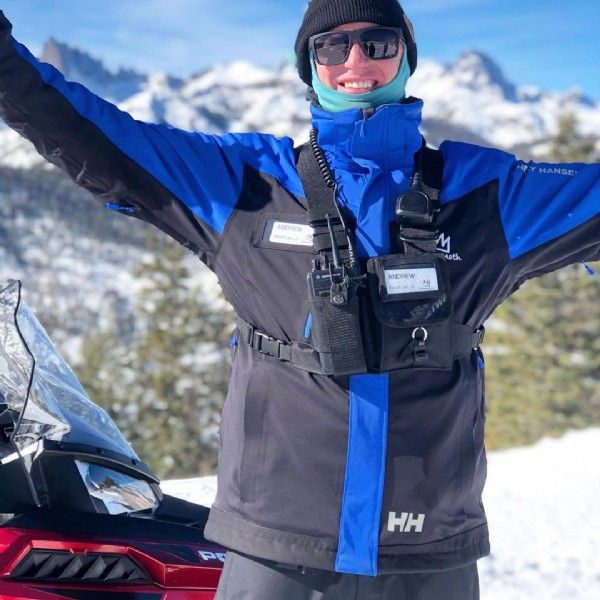 Photo by setwear in Mammoth Lakes, California. May be an image of 1 person and snow.