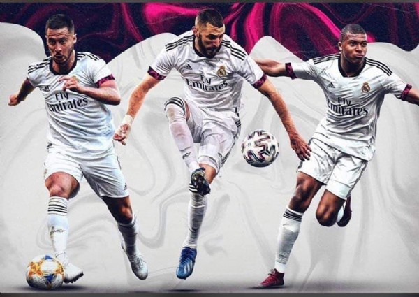 Photo by Madridista on July 29, 2021. May be an image of 3 people.
